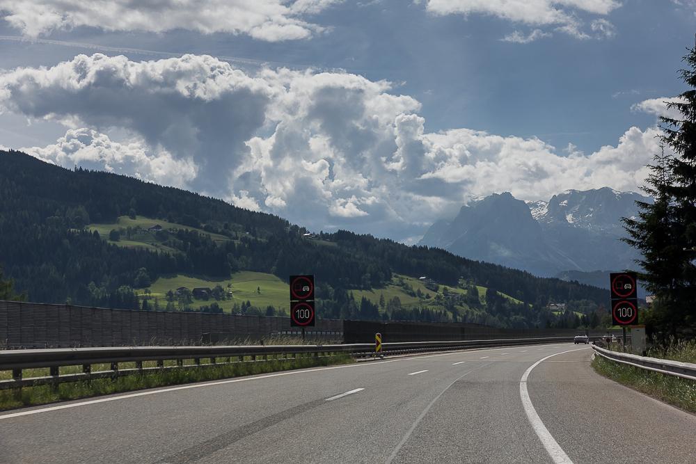 Альпийский австрийский автобан