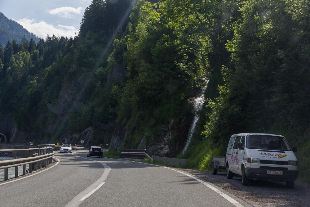 Дорога в Альпах, Австрия