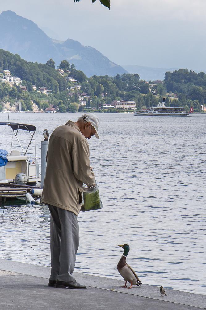 Набережная Люцерна (Luzern), Швейцария ©Татьяна Гладченко, 2014