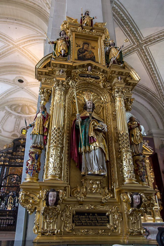 Церковь святого Леодегара в Люцерне (Hofkirche St. Leodegar) ©Татьяна Гладченко, 2014