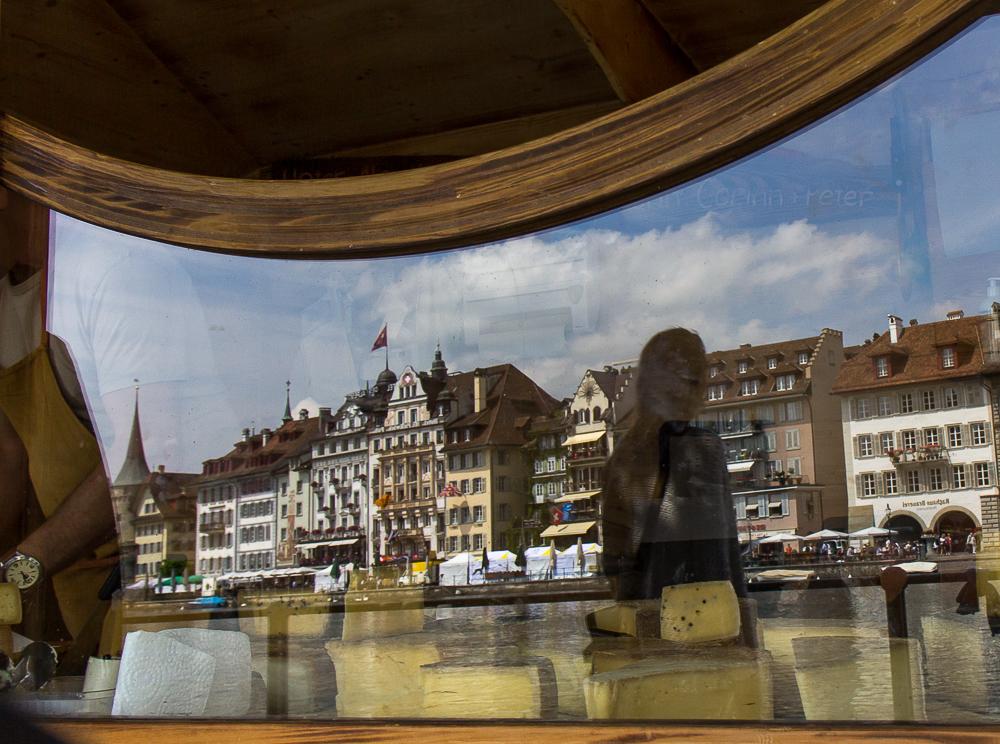 Фургончик с сыром в Люцерне (Luzern), Швейцария ©Татьяна Гладченко, 2014