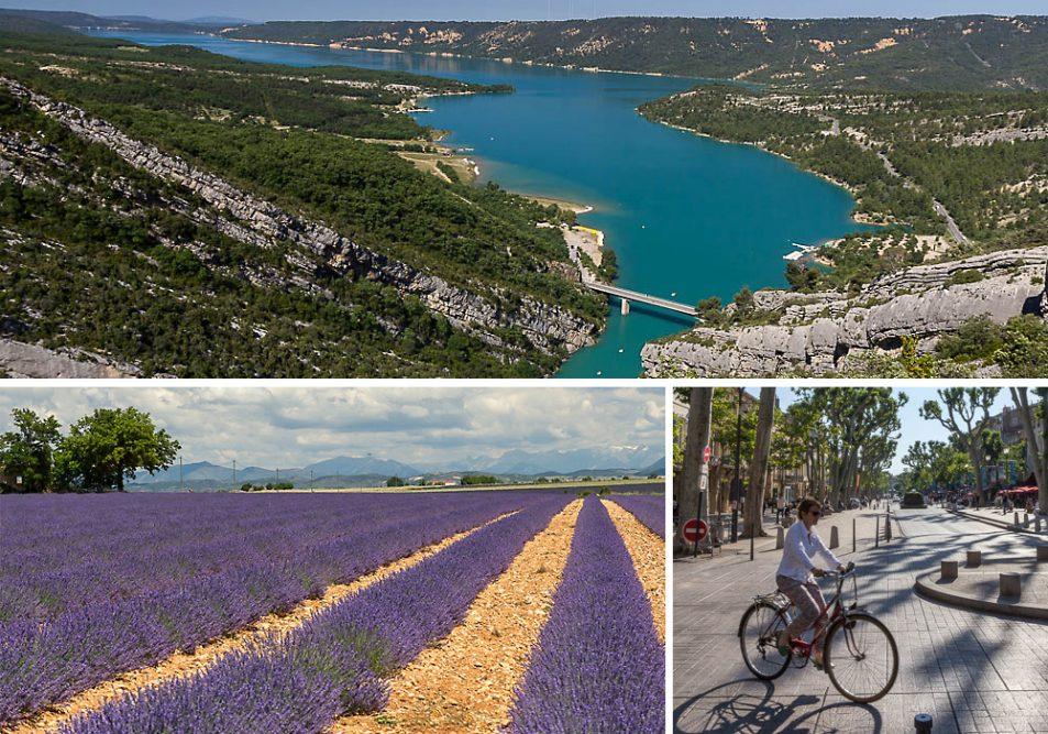 От Кастеллан (Castellane) до Экс-ан-Прованс (Aix-en-Provence), Франция ©Татьяна Гладченко, 2014
