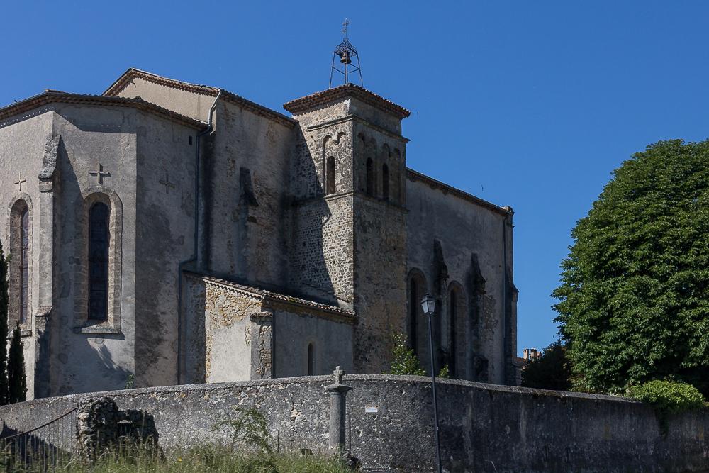 Церковь Нотр-Дам де Вовер (L'Eglise Notre Dame de Vauvert) в местечке Ла Палю-сюр-Вердон (La Palud-sur-Verdon) ©Татьяна Гладченко, 2014