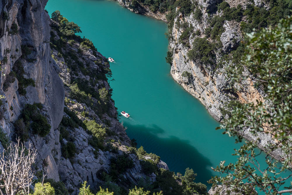 Вердонское ущелье (Gorges du Verdon) ©Татьяна Гладченко, 2014