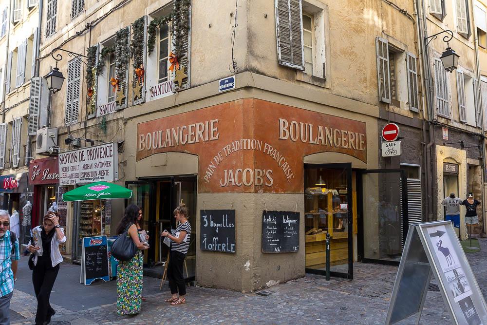 Пекарня в Экс-ан-Прованс (Aix-en-Provence) ©Татьяна Гладченко, 2014