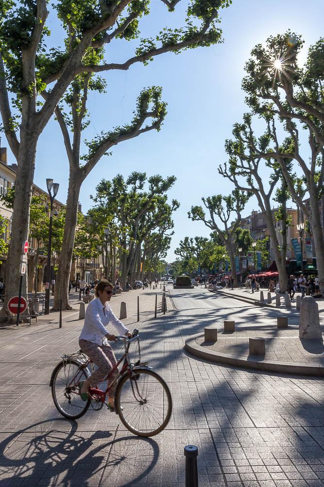 Бульвар Мирабо в Экс-ан-Прованс (Aix-en-Provence) ©Татьяна Гладченко, 2014