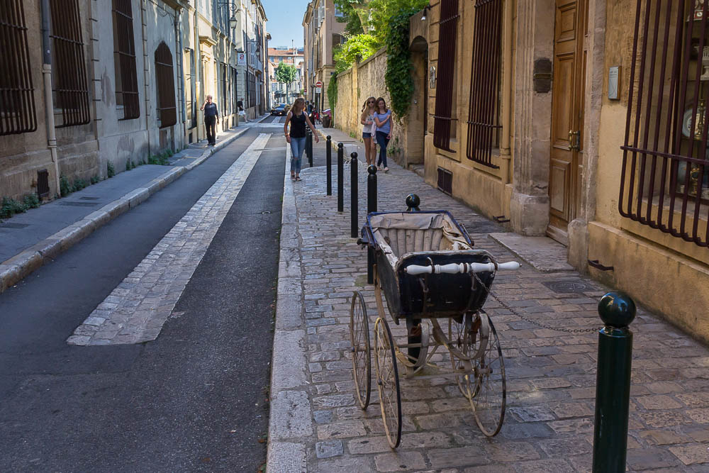 Улочки Экс-ан-Прованс (Aix-en-Provence) ©Татьяна Гладченко, 2014