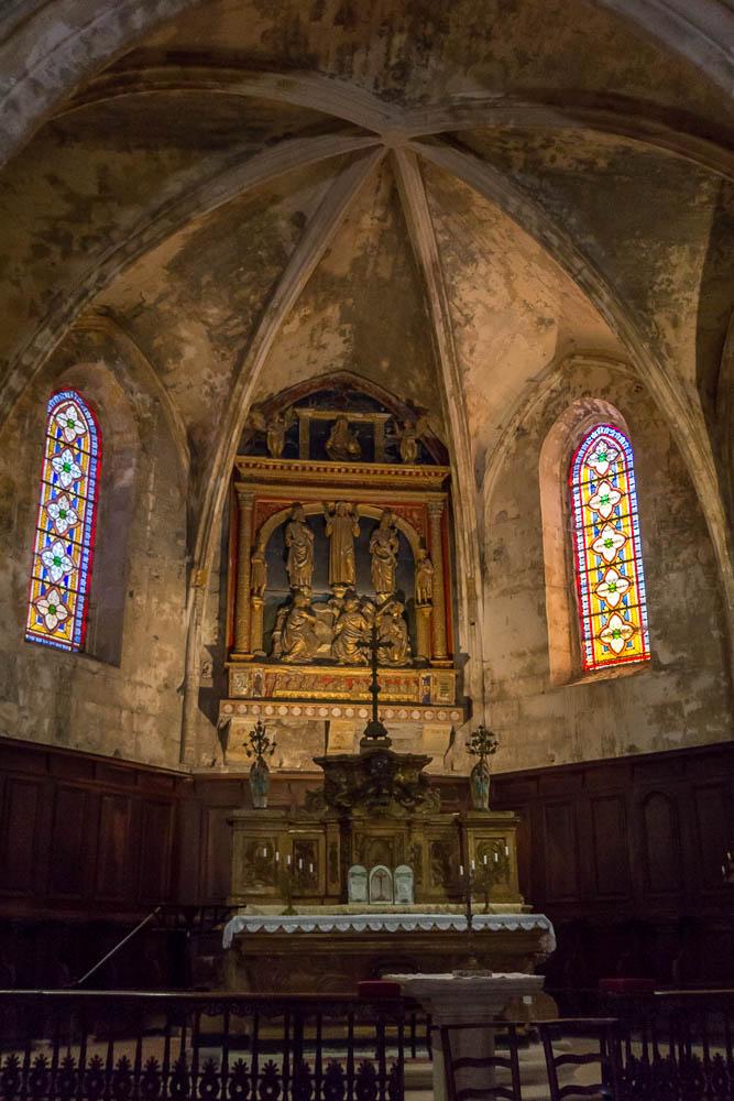 Старая церковь Боньё (Bonnieux) ©Татьяна Гладченко, 2014