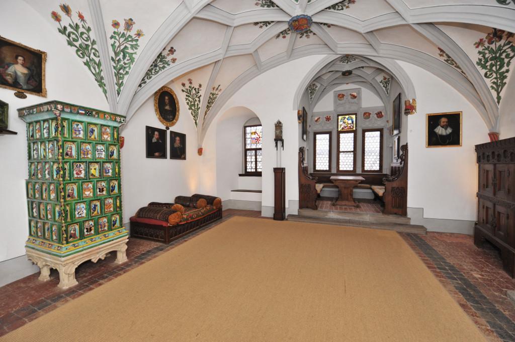 Fahnensaal, Burg Eltz
