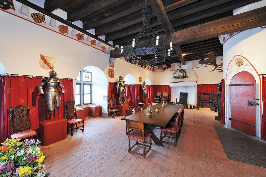 Rittersaal, Burg Eltz