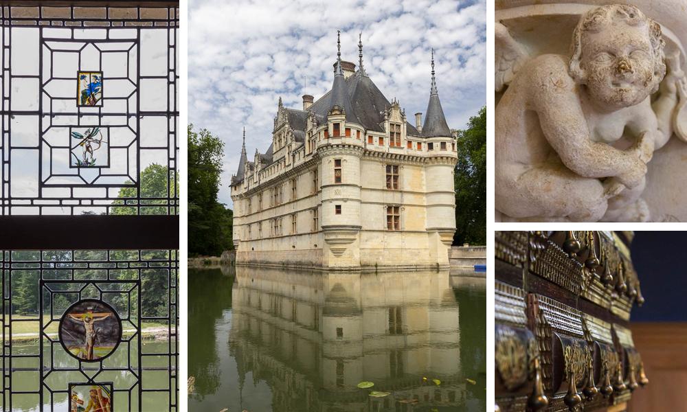 Замок Азе-лё-Ридо (Château d'Azay-le-Rideau), Франция ©Татьяна Гладченко, 2014