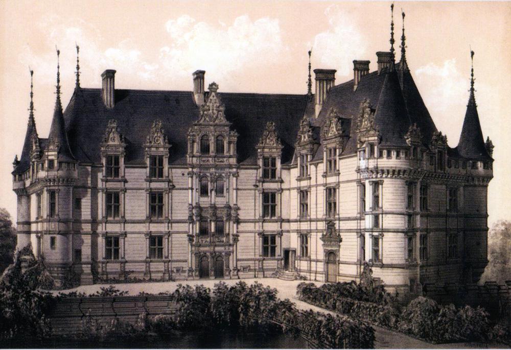 Château d'Azay-le-Rideau, 1860