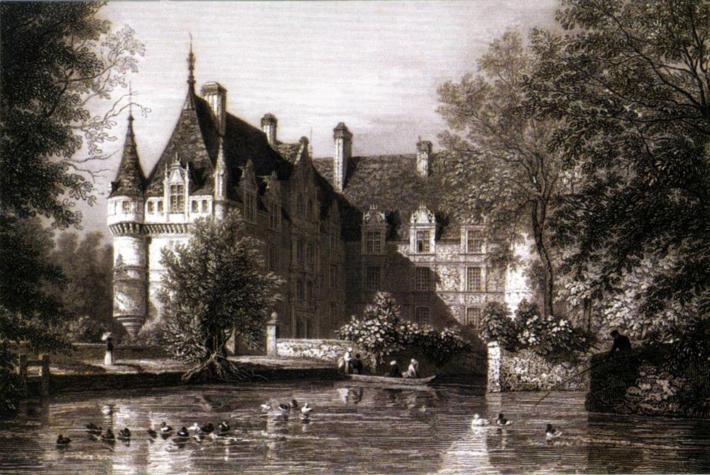 Château d'Azay-le-Rideau, 1855