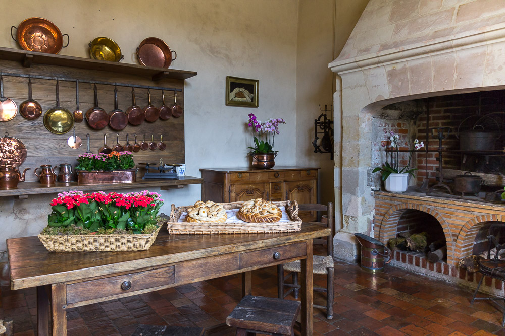 Кухня замка Вилландри (Château de Villandry), Франция ©Татьяна Гладченко, 2014