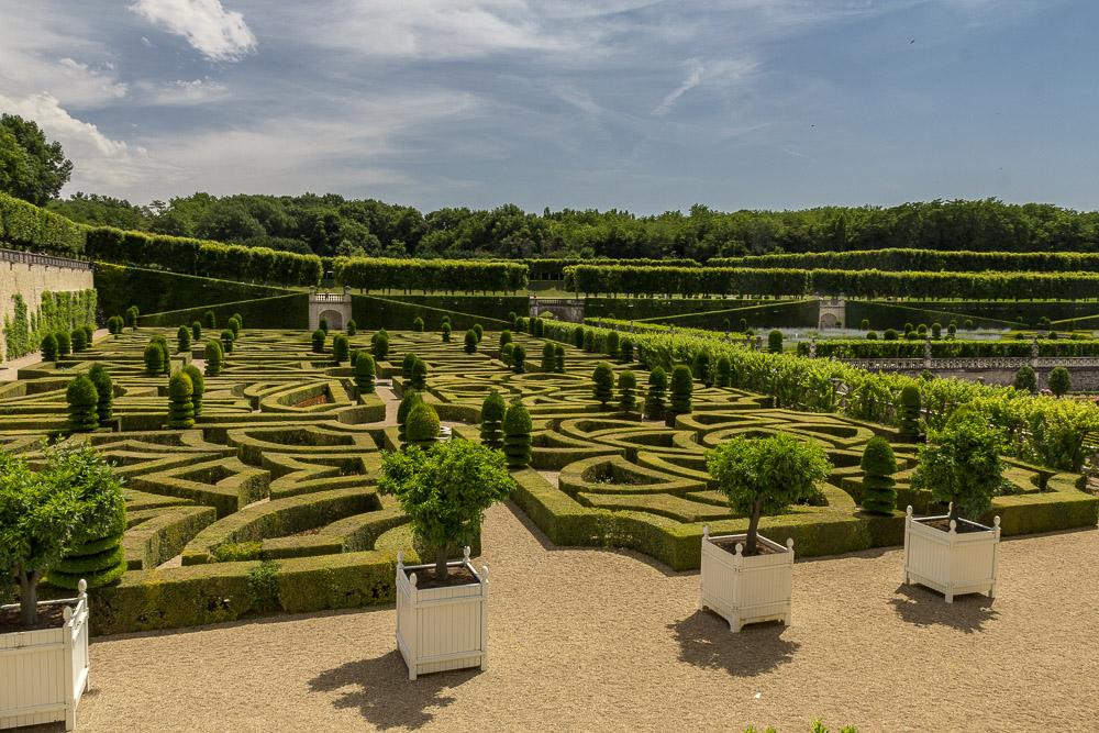 Сады у замка Вилландри (Château de Villandry), Франция ©Татьяна Гладченко, 2014