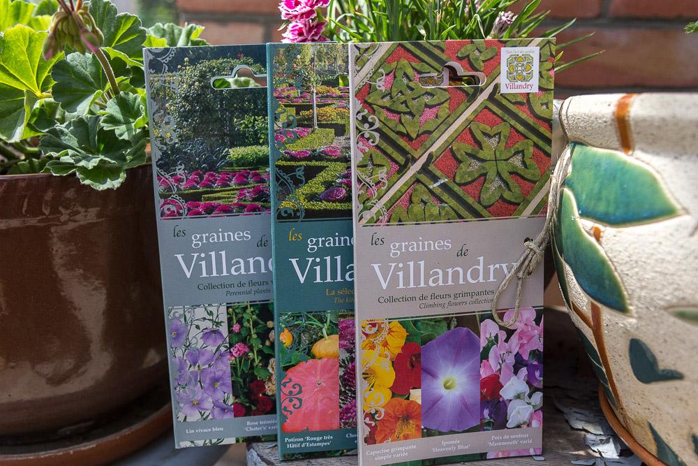 Семена из садов и замка Вилландри (Château de Villandry), Франция ©Татьяна Гладченко, 2014