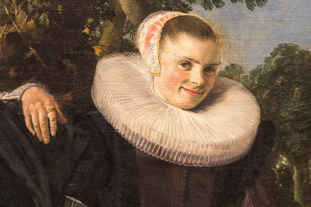Семейный портрет Исаака Массы и его жены Беатрикс ван Лан