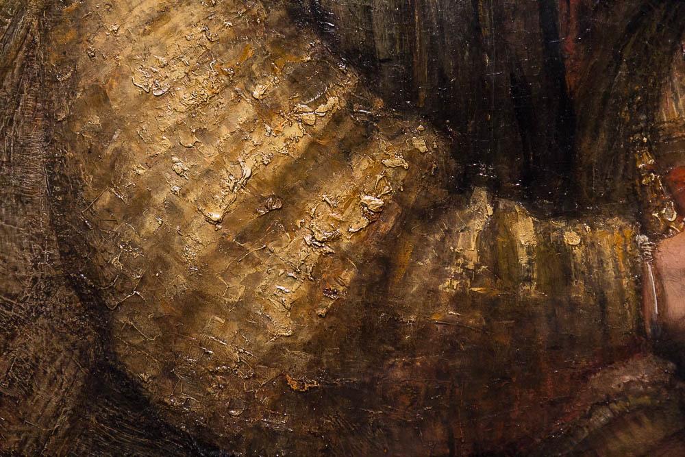 Еврейская невеста (фрагмент), Рембрандт