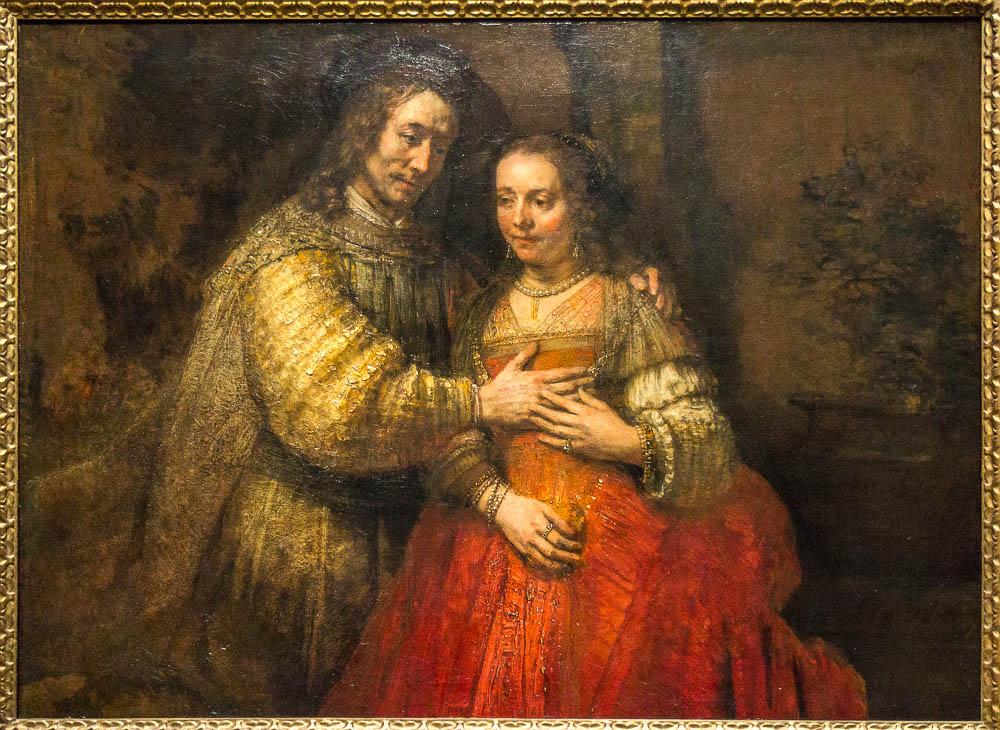Еврейская невеста, Рембрандт
