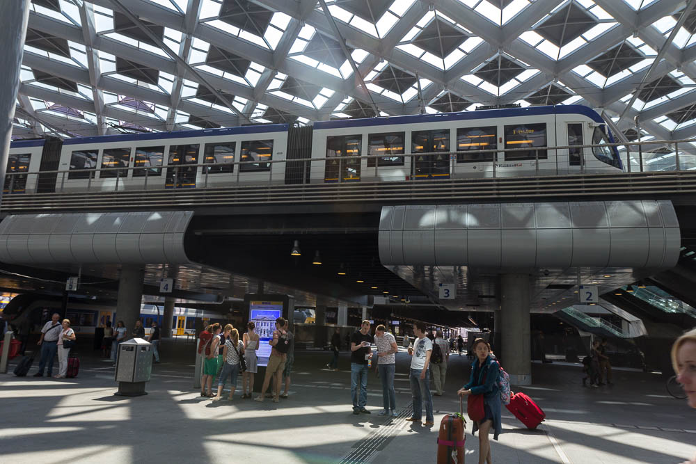 Центральный вокзал Гааги (Den Haag) ©Татьяна Гладченко, 2015