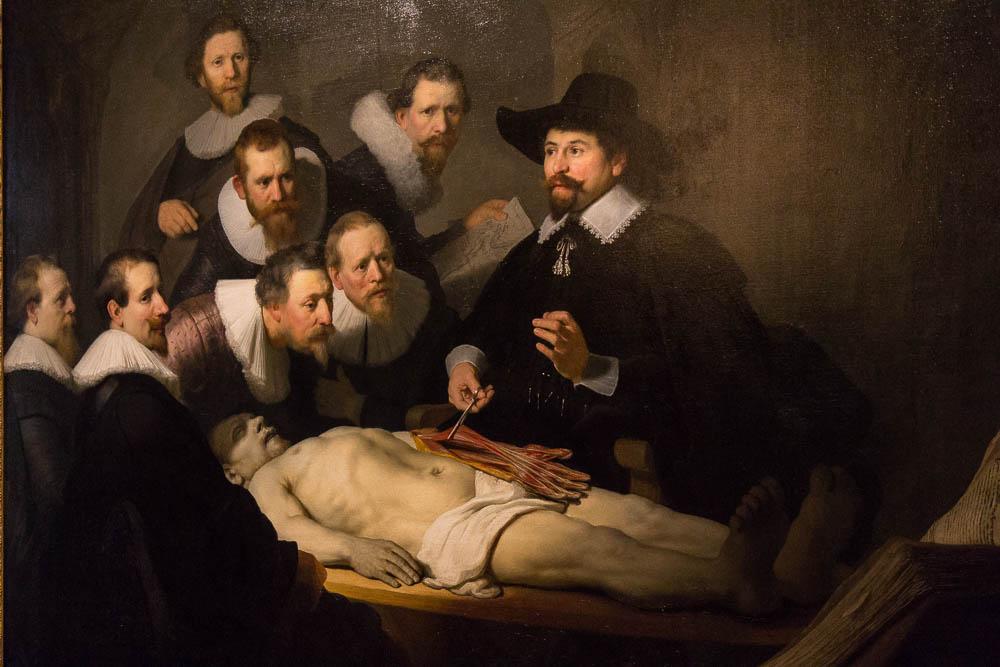 Рембрандт — Урок анатомии доктора Тульпа