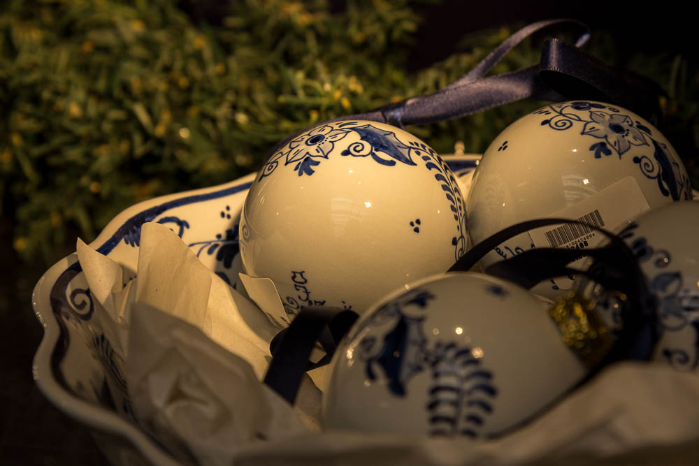 Делфтский фарфор на фабрике Royal Delft ©Татьяна Гладченко, 2015