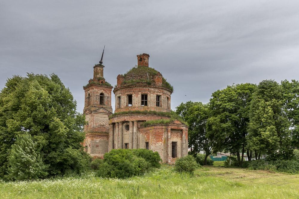 Село Ольхи. Храм в честь Святителя Николая ©Татьяна Гладченко, 2015