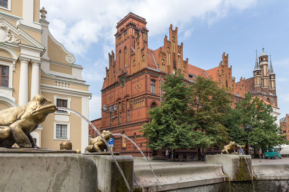 Торунь (Toruń) ©Татьяна Гладченко, 2015