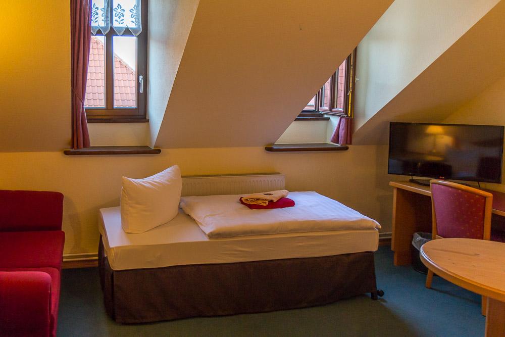 Hotel Am Dippeplatz, Кведлинбург (Quedlinburg) ©Татьяна Гладченко, 2015