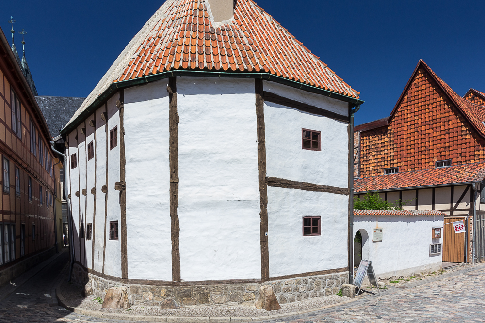 Музей фахверка, Кведлинбург (Quedlinburg) ©Татьяна Гладченко, 2015