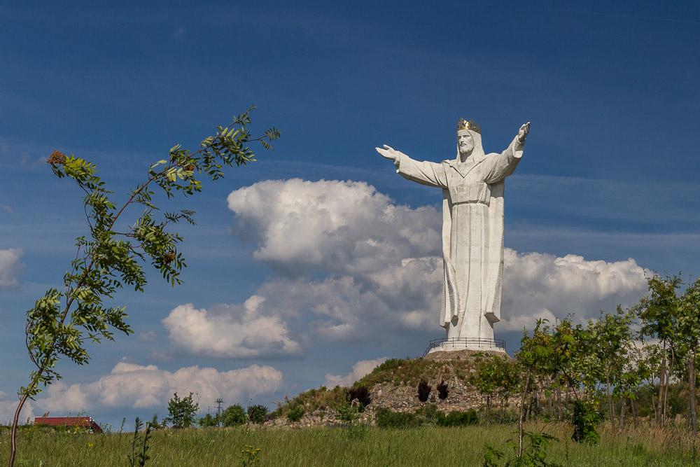 Отпуск 2015. Статуя Христа Царя. Свебодзин (Świebodzin). Польша ©Татьяна Гладченко, 2015