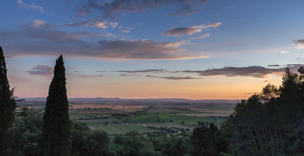 Вид на Тоскану с виллы Скьятти ©Татьяна Гладченко, 2013