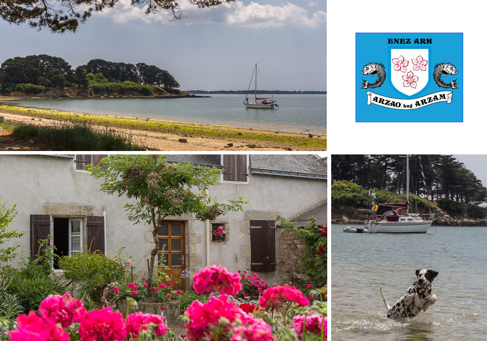 Отпуск 2014. Бретань. Морбиан. Остров Ар (L'île d'Arz). Франция ©Татьяна Гладченко, 2014