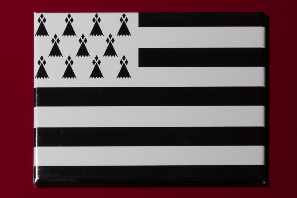 Флаг Бретани ©Татьяна Гладченко, 2014