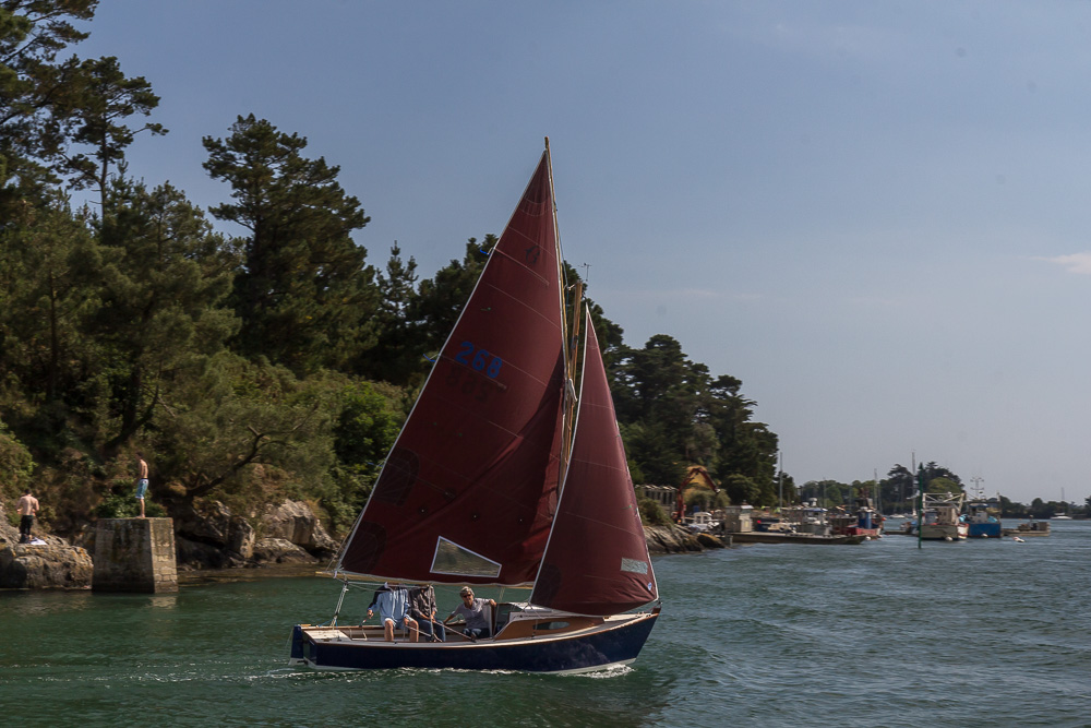 Залив Морбиан (golfe du Morbihan) ©Татьяна Гладченко, 2014