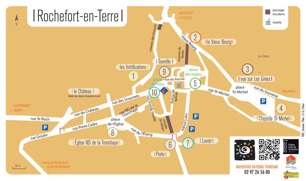 Карта Rochefort-en-Terre