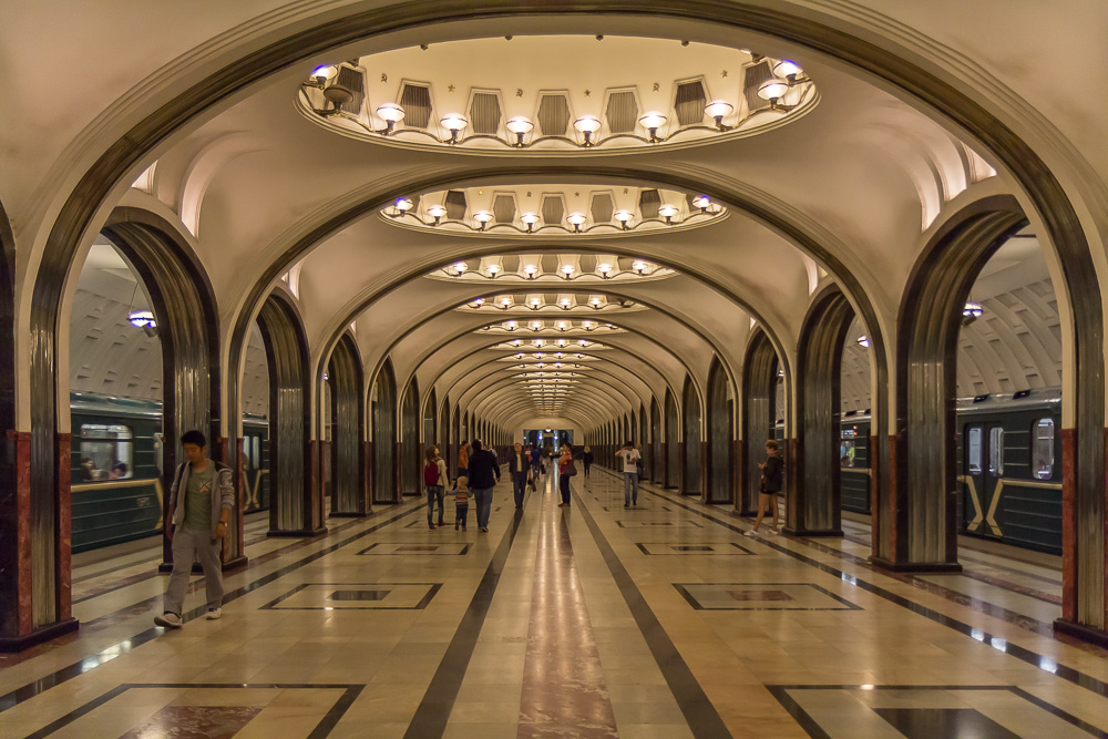 Станция метро Маяковская ©Татьяна Гладченко, 2015