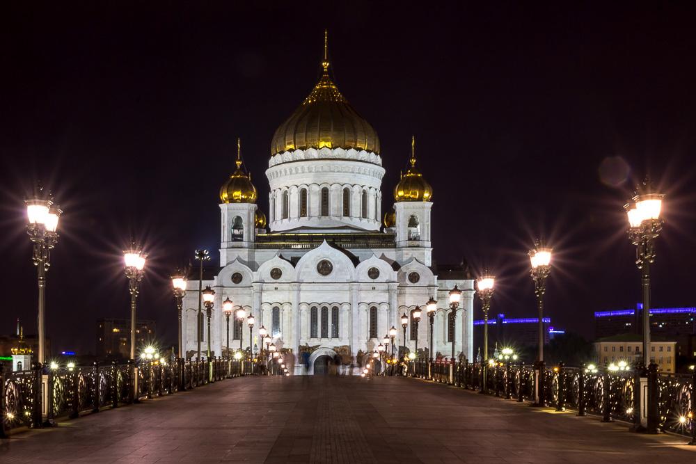 «…Огни — как нити золотых бус.. » Москва. Лето 2015 года ©Татьяна Гладченко, 2015