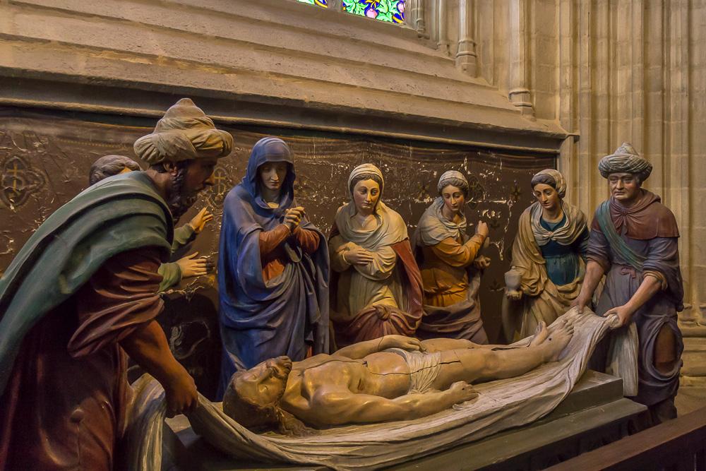 Кемперский собор (Cathédrale Saint-Corentin de Quimper) ©Татьяна Гладченко, 2014