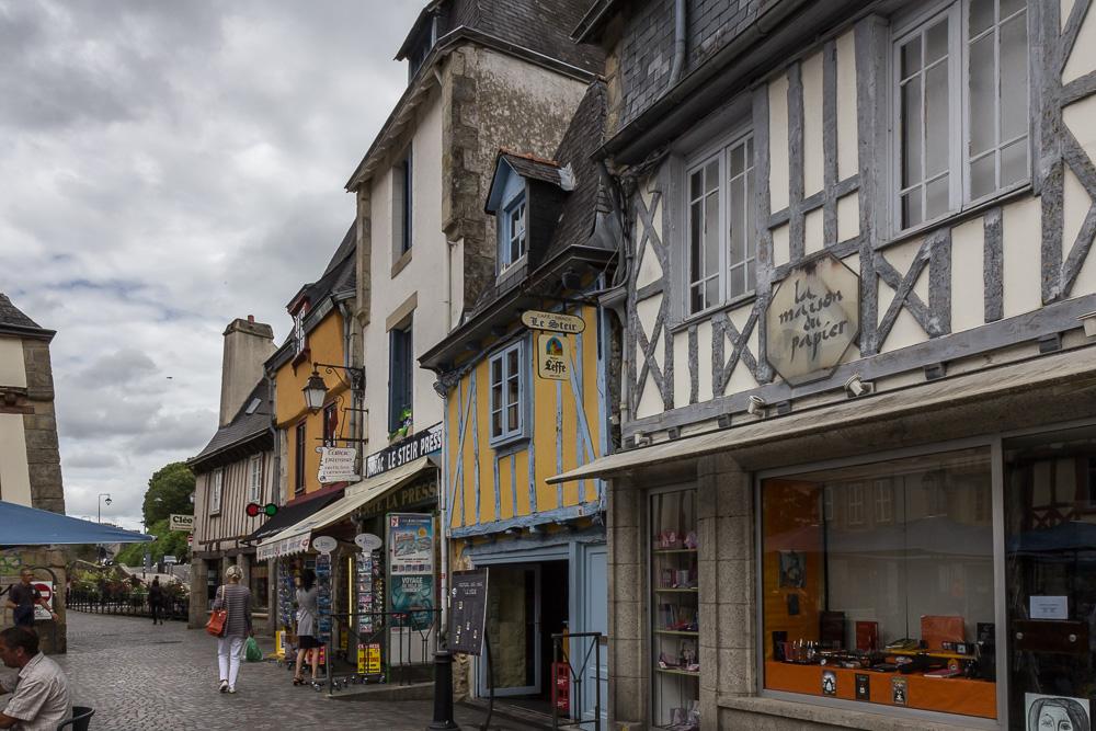Кемпер (Quimper), Бретань, Франция © Татьяна Гладченко, 2014