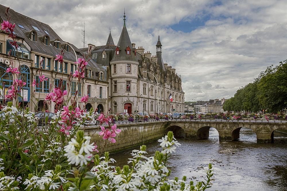 Река Оде (Odet) в Кемпере, Бретань, Франция © Татьяна Гладченко, 2014
