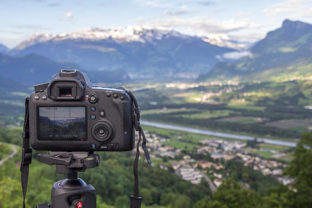 Вид на Лихтенштейн из Тризенберга ©Татьяна Гладченко, 2016