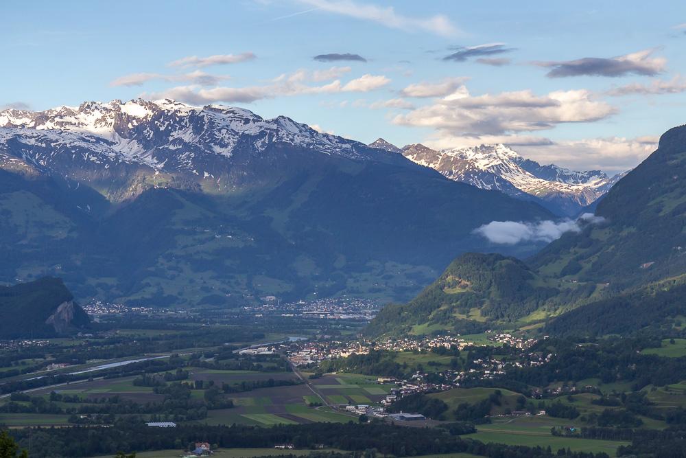 Вид из Тризенберга (Triesenberg, Liechtenstein) ©Татьяна Гладченко, 2016
