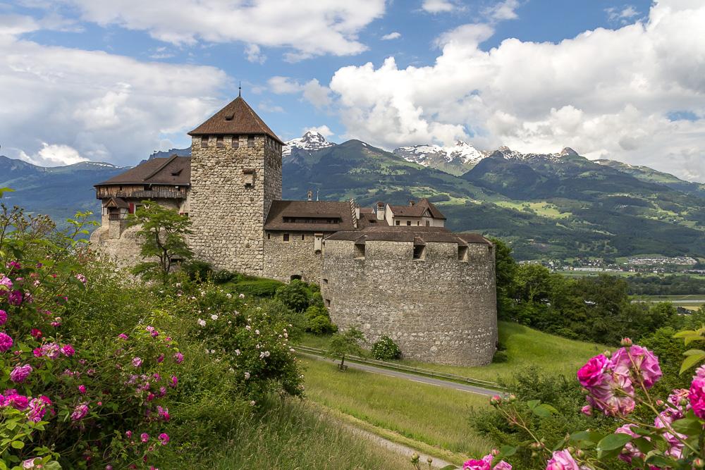 Замок Вадуц (Schloss Vaduz), Лихтенштейн ©Татьяна Гладченко, 2016