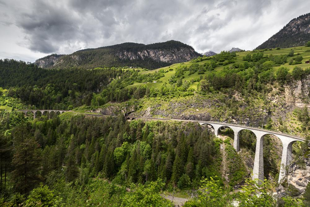 Виадуки Шмиттентобель и Ландвассер (Schmittentobel-Viadukt, Landwasserviadukt) ©Татьяна Гладченко, 2016