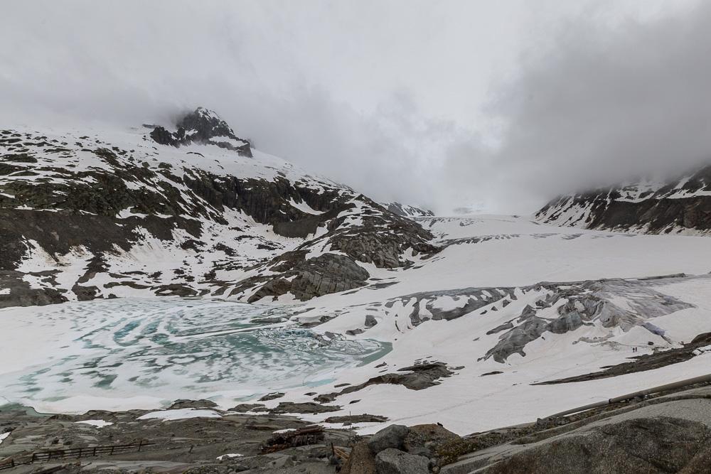 Ронский ледник (Rhonegletscher) ©Татьяна Гладченко, 2016