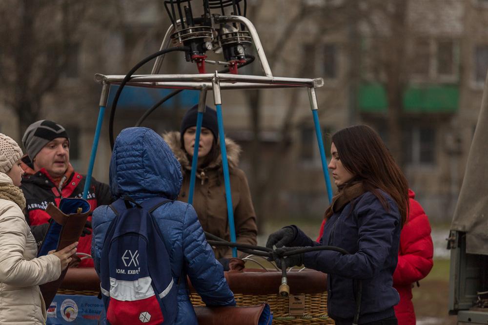 Клуб воздухоплавания «Донское небо» при ДГТУ ©Татьяна Гладченко, 2016