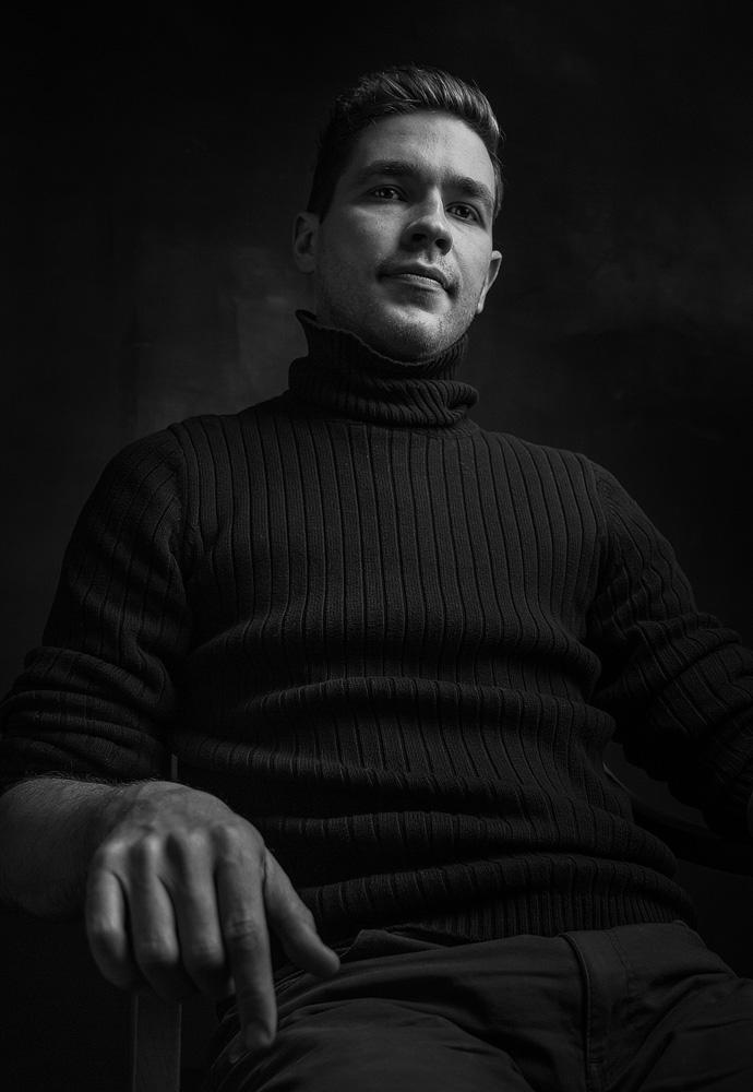 Man Portrait © Tatiana Gladchenko